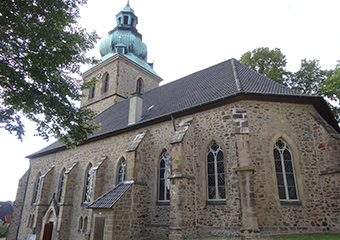 Kirche Eintreten
